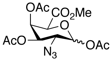 2-Azido-2-deoxy-D-galacturonate 1,3,4-Triacetate Methyl Ester