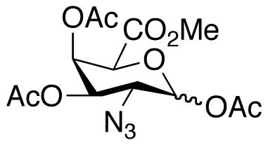 2-Azido-2-deoxy-D-galacturonate 1,3,4-Triacetate Methyl Ester