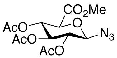 1-Azido-1-deoxy-D-galacturonate 2,3,4-Triacetate Methyl Ester