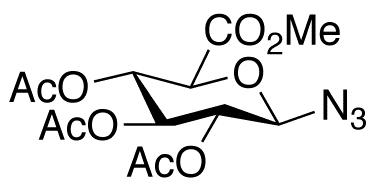 1-Azido-1-deoxy-D-galacturonate 2,3,4-Triacetate Methyl Ester
