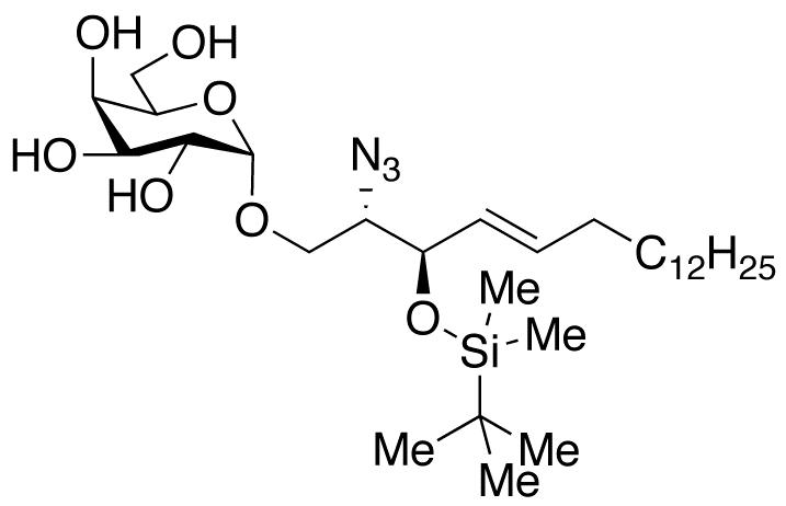 (2S,3R,4E)-2-Azido-tert-butyldimethylsilyl-3-hydroxy-4-octadecenyl α-D-Galactopyranoside