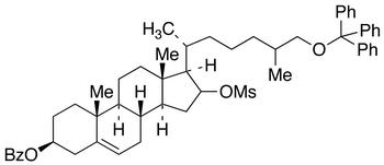 3-O-Benzoyl-16-O-mesyl-26-O-trityl 16,26-Dihydroxy Cholesterol