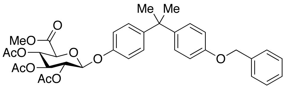 4'-O-Benzyl Bisphenol A Tri-O-acetyl-β-D-glucuronic Acid Methyl Ester