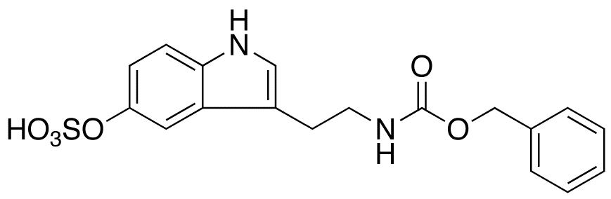 N-Benzyloxycarbonyl Serotonin O-Sulfate