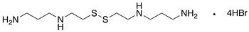 Bis[2-(3-aminopropylamino)ethyl]disulfide Tetrahydrobromide