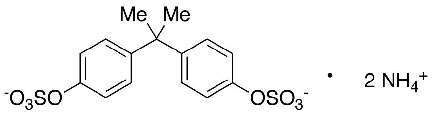 Bisphenol A Bissulfate Diammonium Salt