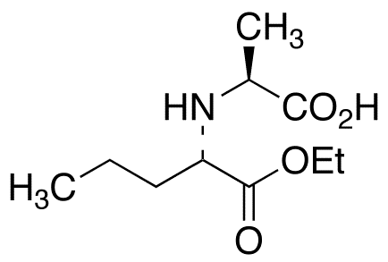 N-[(S)-1-Carbethoxybutyl]-(S)-alanine