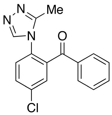 5-Chloro-2-(3-methyl-4H-1,2,4-triazol-4-yl)benzophenone