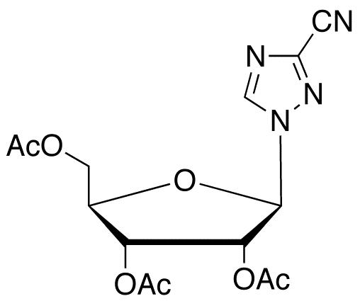 3-Cyano-1-(2,3,5-tri-O-acetyl-β-D-ribofuranosyl)-1,2,4-triazole