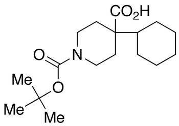 4-Cyclohexyl-1,4-piperidinedicarboxylic Acid tert-Butyl Ester
