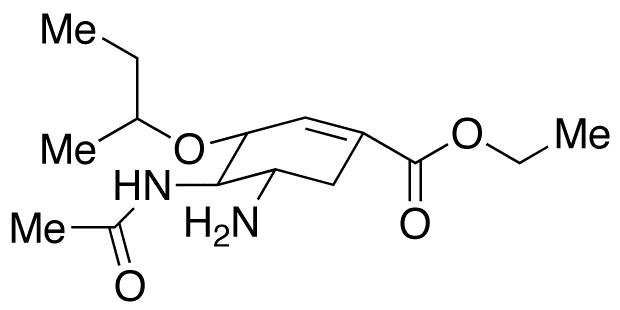 3-Des(1-ethylpropoxy)-3-(1-methylpropoxy) oseltamivir
