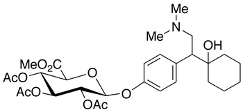 rac O-Desmethyl Venlafaxine 2,3,4-Tri-O-acetyl-β-D-glucuronide Methyl Ester