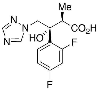 (αR,βR)-β-(2,4-Difluorophenyl)-β-hydroxy-α-methyl-1H-1,2,4-triazole-1-butanoic Acid