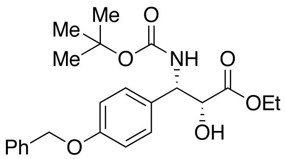 (αR,βS)-β-[[(1,1-Dimethylethoxy)carbonyl]amino]-α-hydroxy-4-(phenylmethoxy)-benzenepropanoic Acid Ethyl Ester