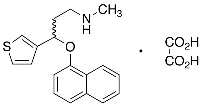 rac Duloxetine 3-Thiophene Isomer Oxalate