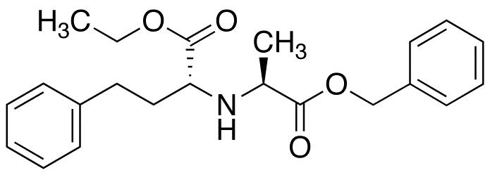 (-)-N-(1-R-Ethoxycarbonxyl-3-phenylpropyl)-L-alanine Benzyl Ester
