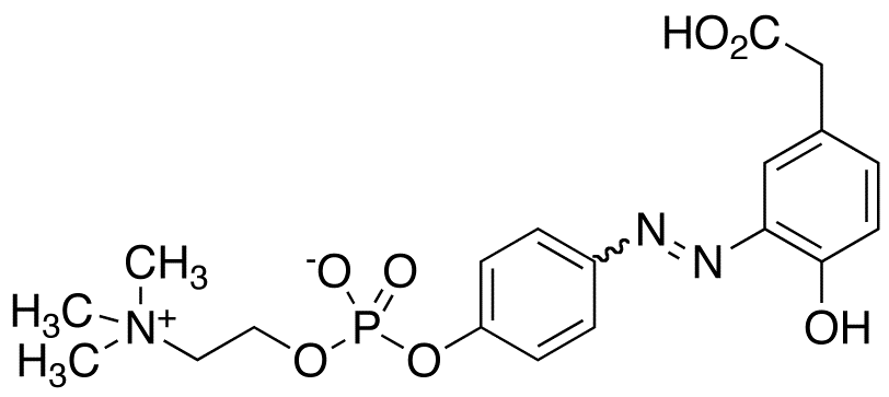 4-Hydroxy-3-(p-diazophenylphosphorylcholine) Phenylacetic Acid