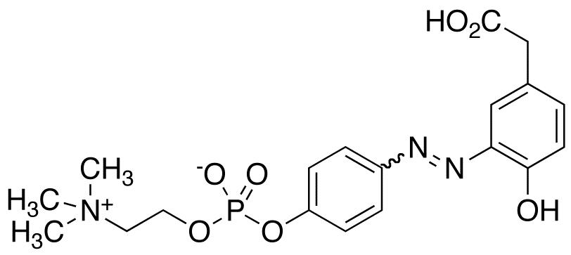 4-Hydroxy-3-(p-diazophenylphosphorylcholine) Phenylacetic Acid
