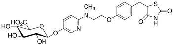 5-Hydroxy Rosiglitazone β-D-Glucuronide (mixture of diastereomers)