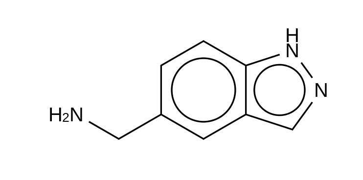 1H-Indazole-5-methanamine HCl