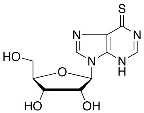 6-Mercaptopurine-9-β-D-ribofuranoside