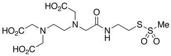 [S-Methanethiosulfonylcysteaminyl]ethylenediamine-N,N,N',N'-Tetraacetic Acid(4:1 mixture of mono-MTS  to bis-MTS)