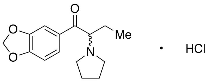 3',4'-(Methylenedioxy)-2-(1-pyrrolidinyl)butyrophenone HCl