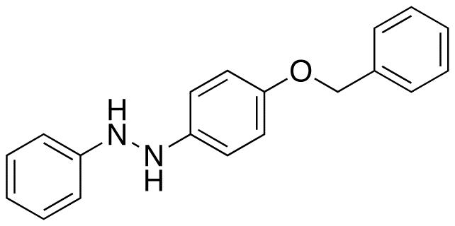 1-Phenyl-2-[4-(phenylmethoxy)phenyl]hydrazine