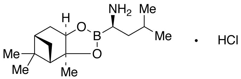 (αR)-(1S,2S,3R,5S)-Pinanediol-1-amino-3-methylbutane-1-boronate HCl