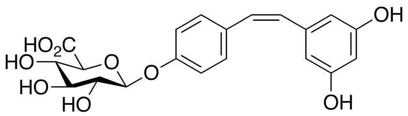 cis Resveratrol 4'-O-β-D-Glucuronide