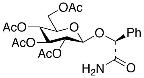(αR)-α-[(2,3,4,6-Tetra-O-acetyl-β-D-glucopyranosyl)oxy]benzeneacetamide