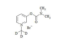 Pyridostigmine Bromide-d<sub>3</sub>