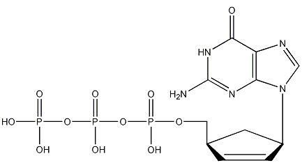 (-)-Carbovir-5'-triphosphate