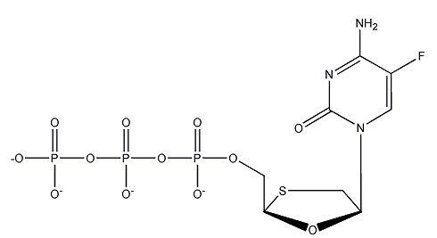 FTC-TP, tetraammonium salt