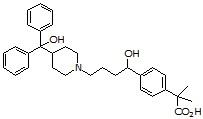 Carboxyterfenadine HCl