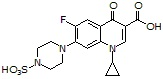 Ciprofloxacin-piperazinyl-N-sulfate