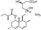 Lovastatin hydroxy acid ammonium salt