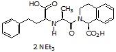 Quinaprilat triethylammonium salt