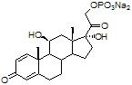 1,4-Pregnadien-11b,17,21 triol-3,20-dione-21-phosphate
