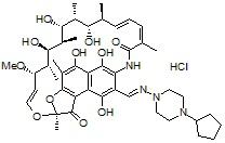 25-desacetyl Rifapentine HCl