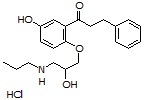 5-Hydroxypropafenone HCl