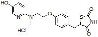 5-Hydroxyrosiglitazone HCl