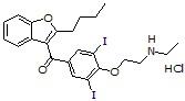 N-Desethylamiodarone HCl