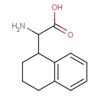 2-Amino-2-(1,2,3,4-tetrahydronaphthalen-1-yl)acetic acid