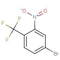 4-Bromo-2-nitro-1-(trifluoromethyl)benzene