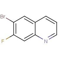 6-Bromo-7-fluoroquinoline