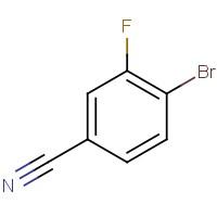 4-Bromo-3-fluorobenzonitrile