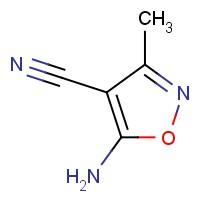 5-Amino-3-methylisoxazole-4-carbonitrile