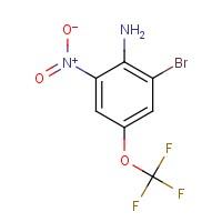 2-Bromo-4-(trifluoromethoxy)-6-nitroaniline
