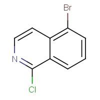 5-Bromo-1-chloroisoquinoline